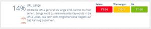 Status URL-Länge OnPage.org