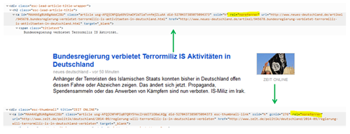 Google News norefferer