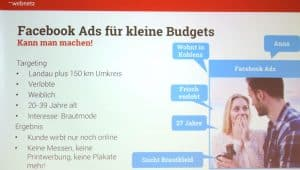 Vortrag: 10-Facebook Mythen - Facebook Ads mit kleinem Budget