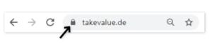 HTTPS-Verschlüsselung takevalue.de