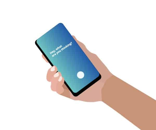 Das Smartphone Samsung Bixby mit dem digitalen Assistenten Viv